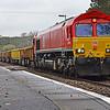66115 6W02 1000 Landore Junction to Westbury Up Yard at Llangennech 15/4/18.