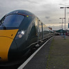 800012 & 800008 stand at Swansea next to 43078 29/12/17.