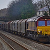 66187 6E47 1225 Margam Terminal Complex to Middlesbrough Dawson Ayrton at Pyle 6/1/19.