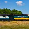 43002 & 43154 1B15 0845 Paddington to Pembroke Dock at Loughor 7/7/18.