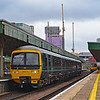 166213 2U12 1017 Taunton to Cardiff Central at Cardiff Central 18/8/18.