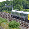 158957 1W14 1125 Milford Haven to Manchester Piccadilly at Llandeilo Junction 1/7/18.