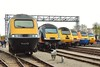 HST line up at St Phillips Marsh open day 2/5/16.