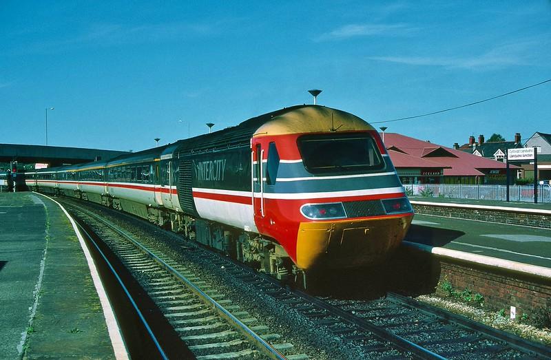 43028 08:15 Euston to Holyhead at Llandudno Junction 21/9/1997.