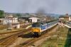 47711 10:15 London Waterloo to Salisbury at Andover 20/3/1993.