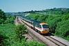 43033 11:32 Swansea to London Paddington near Pencoed 31/5/1994.