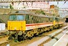 87014 & 87020 at London Euston 17/7/1995.
