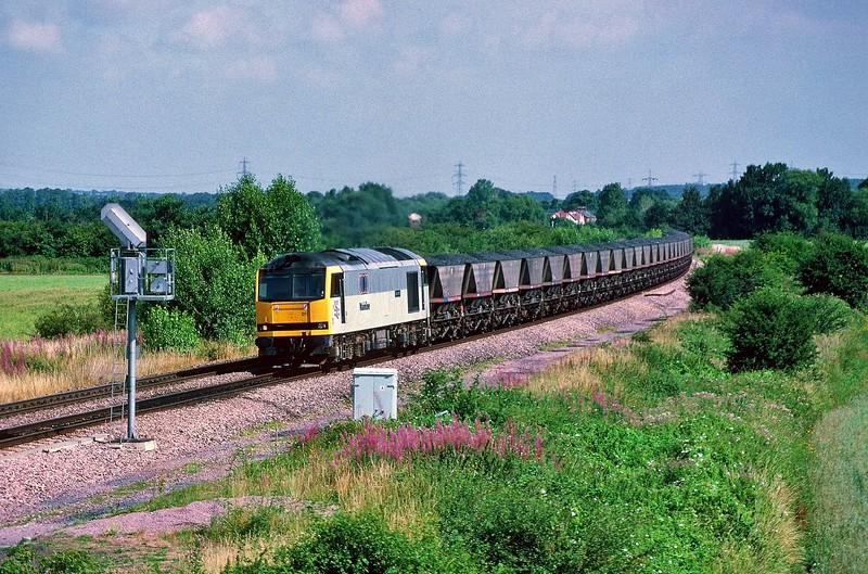 60011 at Didcot North 29/7/1995.