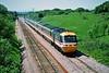 43019 13:32 Swansea to London Paddington at Stormy 31/5/1994.