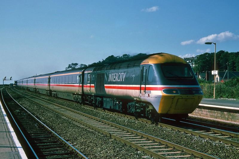 43026 on an ECS working at Dawlish Warren 13/8/1994.