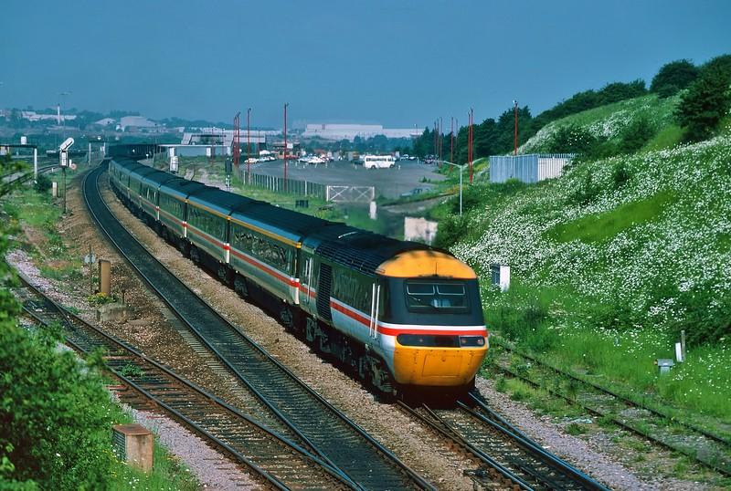 43181 07:32 Swansea to London Paddington at Bristol Parkway 5/6/1993.