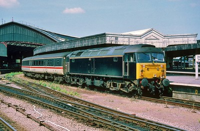 47712 at Bristol Temple Meads with the 11:17 from Manchester Piccadilly 30/5/1998.
