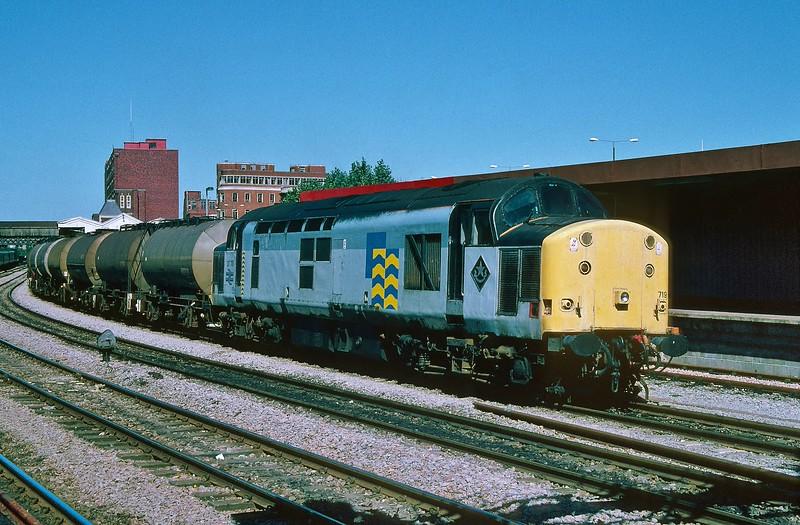 37719 6V14 Hull to Baglan Bay at Newport 17/7/1996.