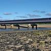 43197 & 43137 1L52 09:38 Carmarthen to London Paddington crossing the Loughor Viaduct 22/4/17.