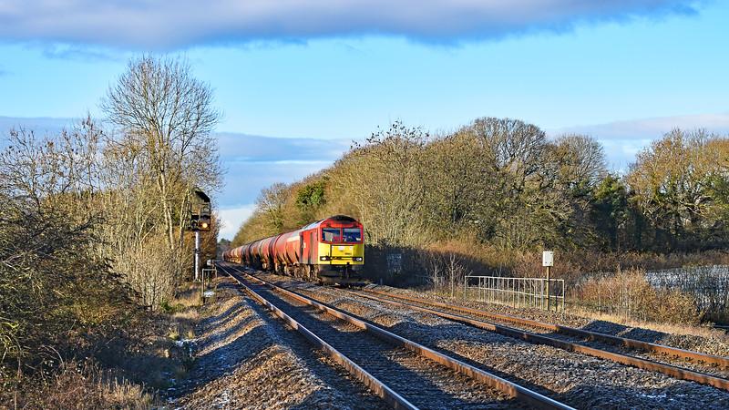 60063 6B13 Robeston to Westerleigh at Coychurch 2/2/19.