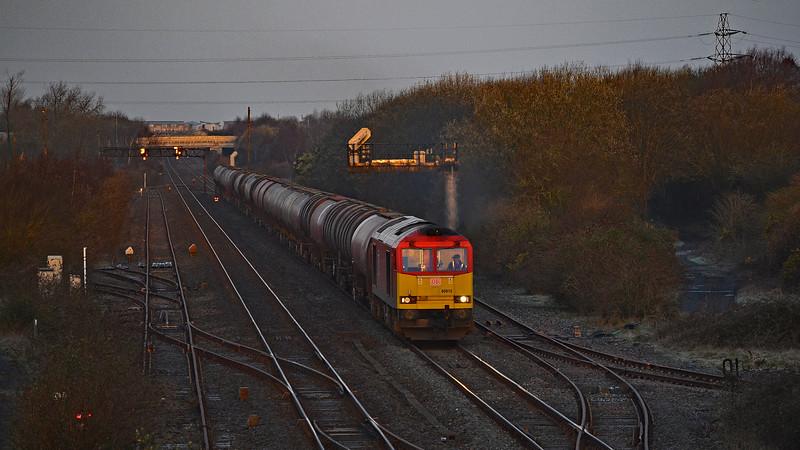 60015 6B13 Robeston to Westerleigh at Llandeilo Junction 8/3/19.