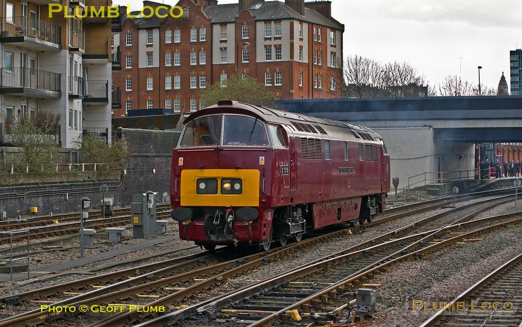 "D1015""Western Champion"", Marylebone, 0Z52, 9th February 2014"