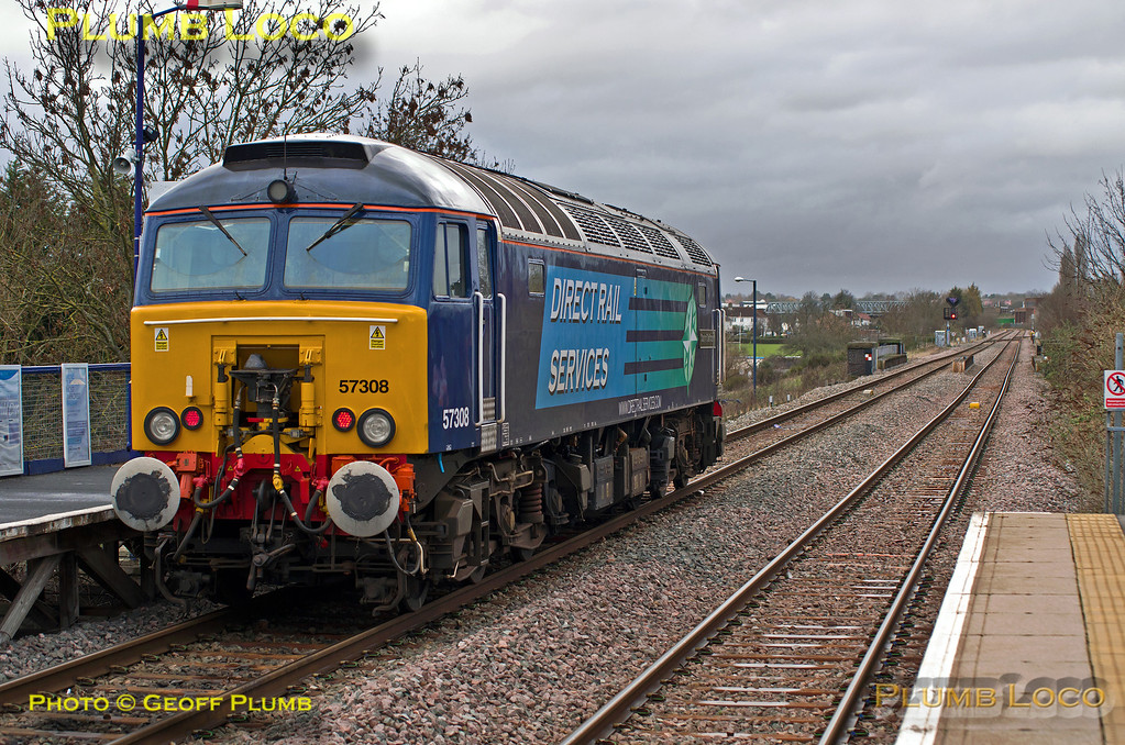 57308, South Greenford, 0Z57, 25th February 2014