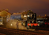 """60163 """"Tornado"""" getting some tlc at the Didcot evening photo shoot 05/04/2014."""
