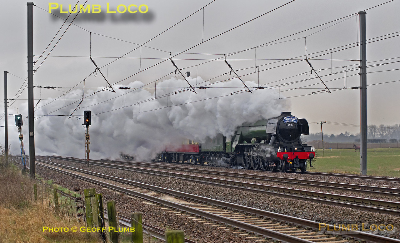 "60103 ""Flying Scotsman"", Langford, 1Z60, 25th February 2016"