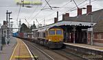 66739, Manningtree Station, 4M23, 8th February 2016