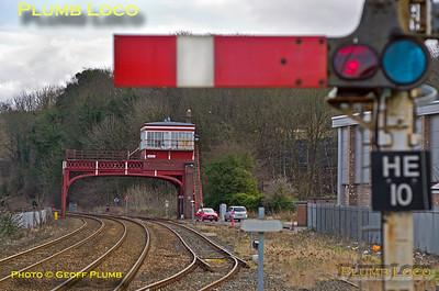 General View, Hexham Signal Box, 26th February 2018