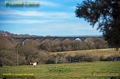 Hownsgill Viaduct, Stanhope & Tyne Railway, 25th February 2019