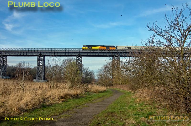 60087, Wansbeck Viaduct, 6N19, 25th February 2019