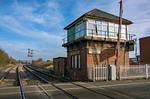Marcheys House Signal Box, 25th February 2019