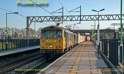 86627 & 86614, Cheddington, 4M87, 6th February 2020