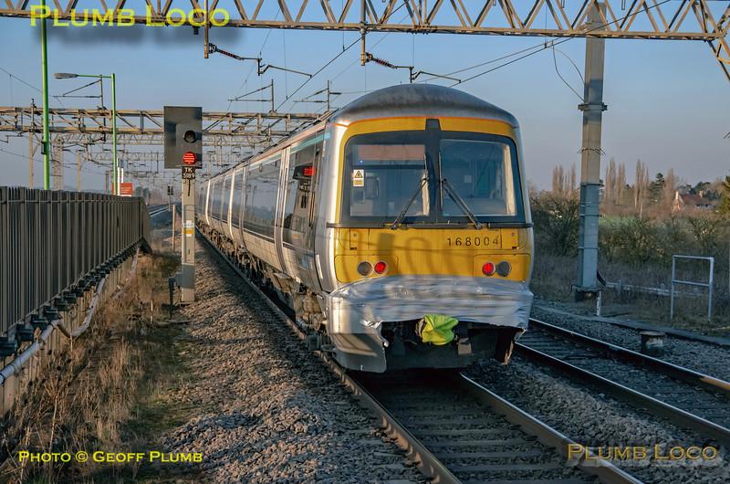 168 004, Cheddington, 5H70, 6th February 2020