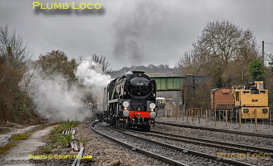 "35028 ""Clan Line"", Princes Risborough, 1Z82, 15th February 2020"