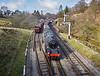 BR Standard 4MT 2-6-0 76079 at Goathland Station - 16 March 2016