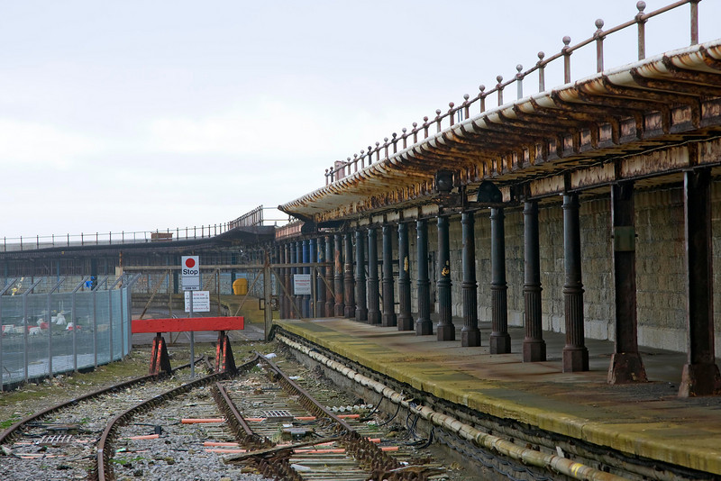 Another view showing the stations former glories.