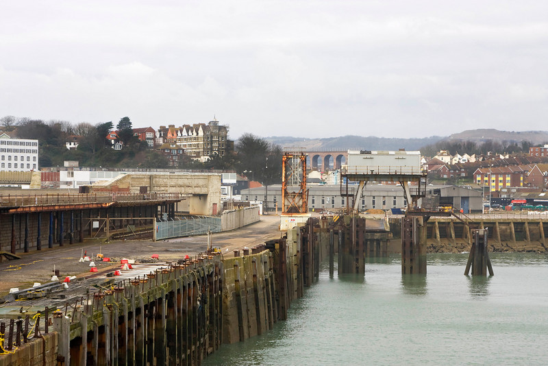 End of the Ferry terminal as well.