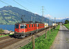 11317 + 11652 Seen approaching Immensee on a Northbound Freight from the Gotthard <br /> 01/09/2010