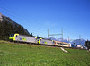 485008 + 485004 seen approaching kandersteg on a Southbound Lorry train destined for Novara Italy<br /> 26/8/2006