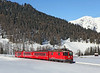 626 is seen climbing the Wolfgang pass on train 839 the 15.44hrs Klosters Dorf - Davos Platz.<br /> 02/03/2013