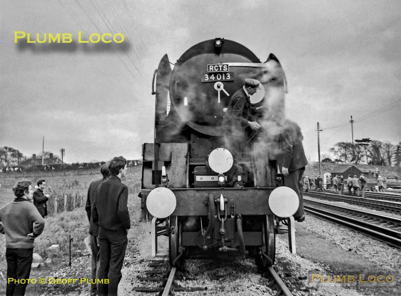 34013, Highbridge, 6th March, 1966