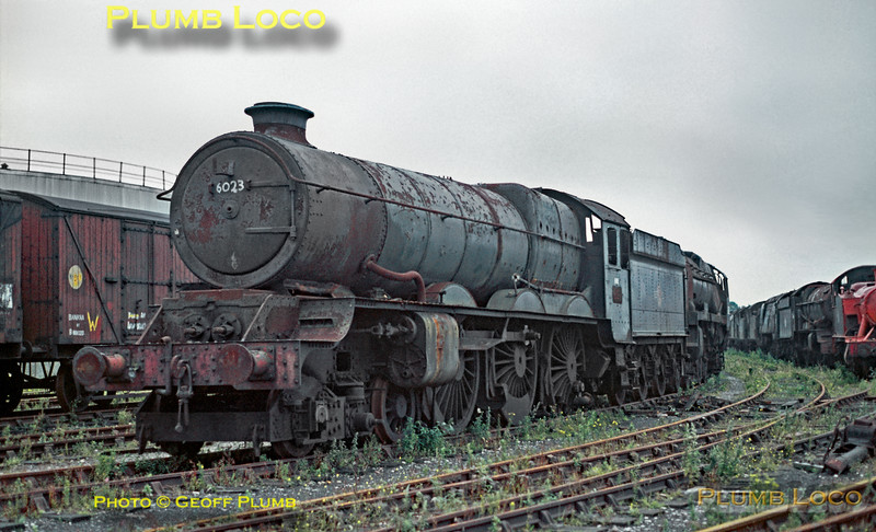 6023, Woodham's Barry, July 1970