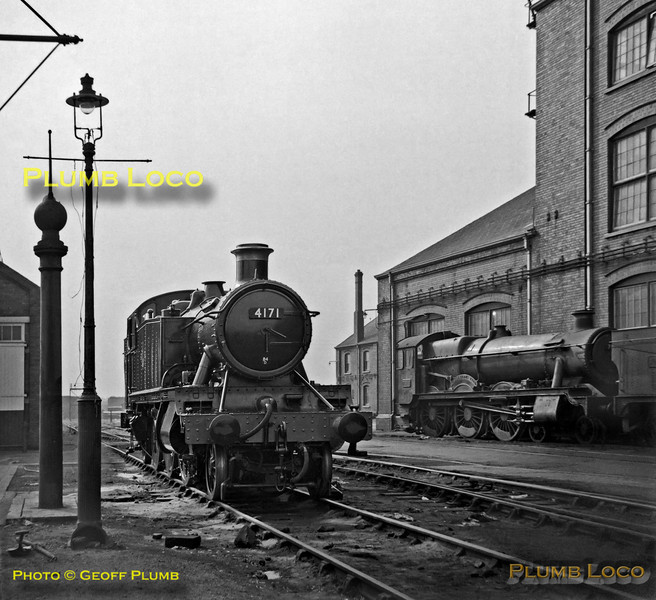 4171, Swindon Works, 23rd September 1962