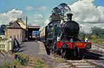 GWR No. 4555, Buckfastleigh, 7th September 1967