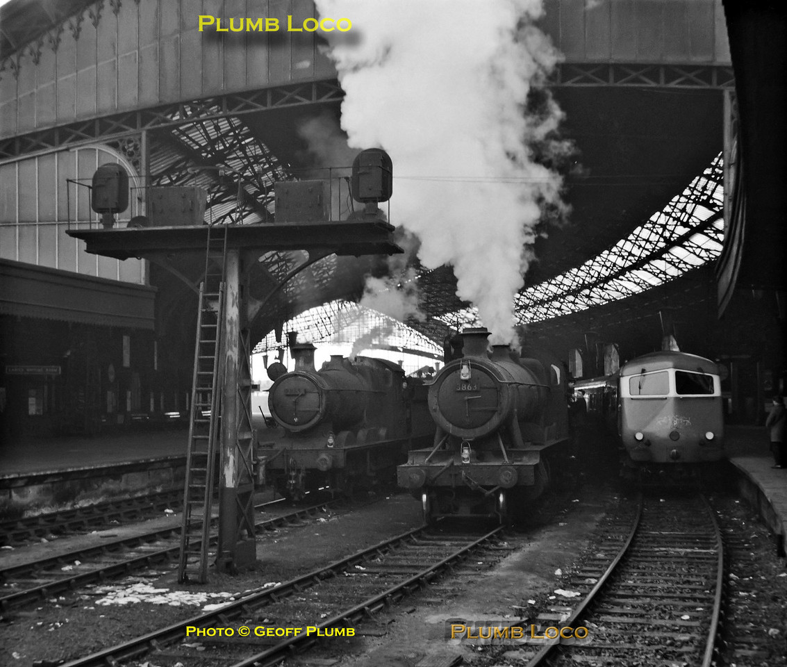 2251, 3863, Bristol Pullman, Bristol Temple Meads, 25th February 1963
