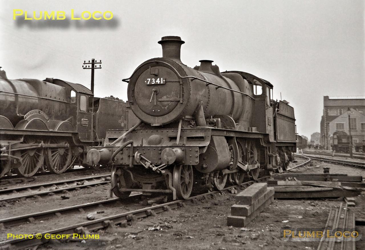 7341, Swindon Works, 23rd September 1962