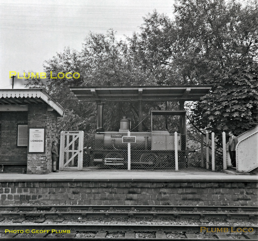 """W.T.Co. No.5 """"Shannon"""", Wantage Road Station, 23rd September 1962"""
