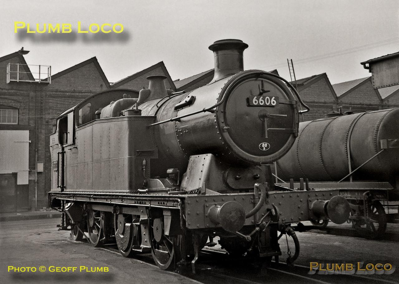 6606, Swindon Works, 23rd September 1962