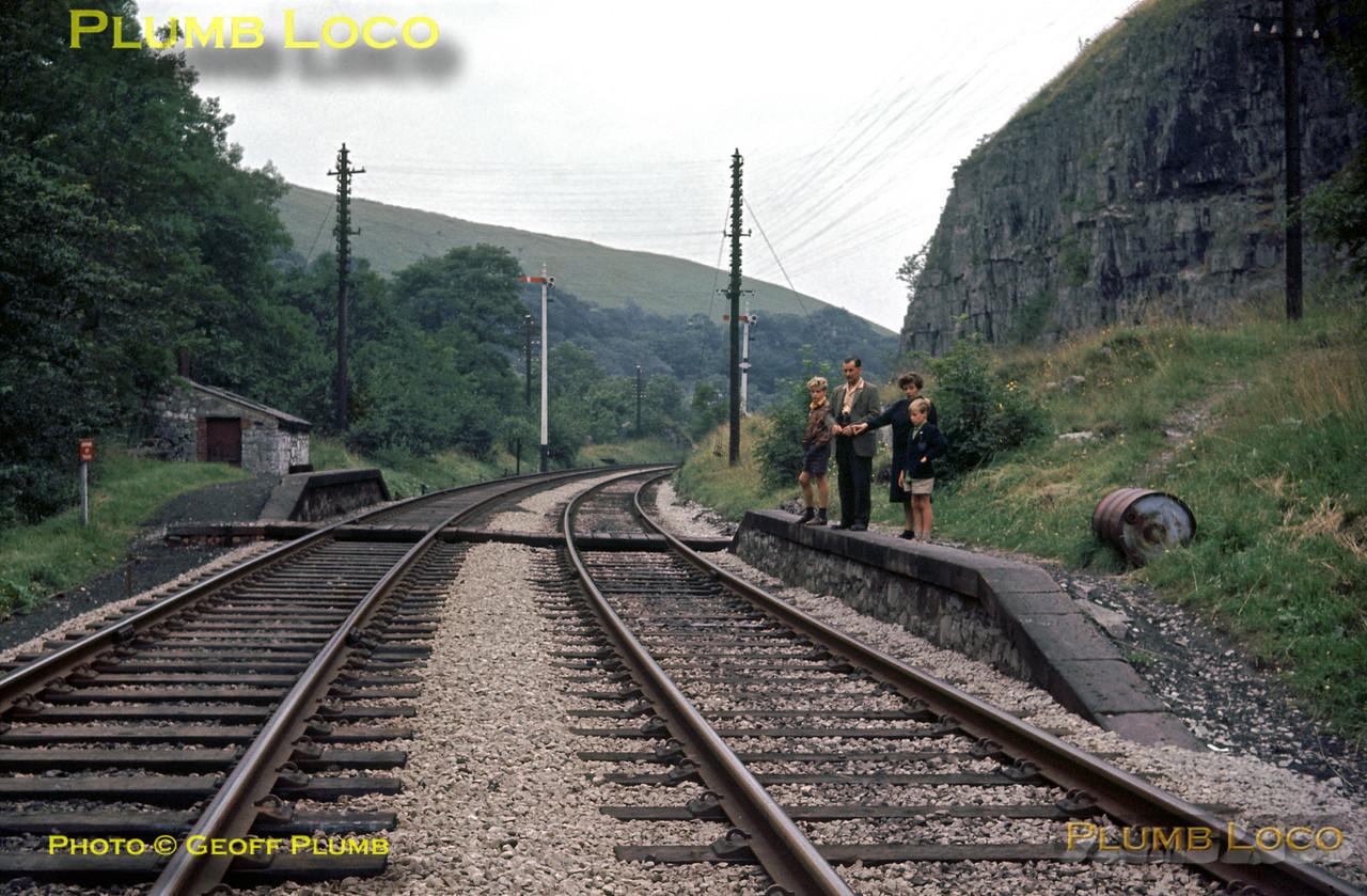 Blackwell Mill Halt, 2nd August 1963