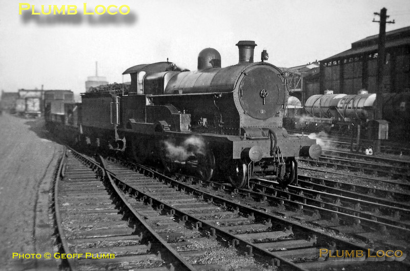 "Former LNWR ""George the Fifth"" 4-4-0, LMS No. 25350 ""India"", Chester, Whitsuntide 1938"