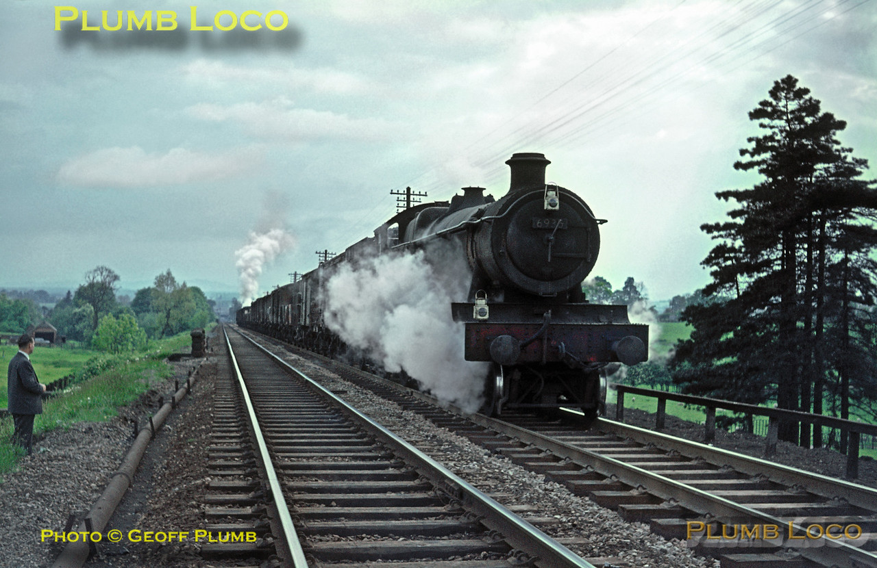 "6936 ""Breccles Hall"", Lickey Incline, 22nd May 1964"