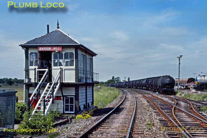 Bardon Hill Signalbox, 11th June 1989